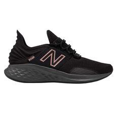 New Balance Fresh Foam Roav Womens Running Shoes Black / Rose Gold US 6, Black / Rose Gold, rebel_hi-res