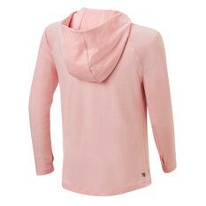 Ell & Voo Girls Amelia Hoodie Pink 4, Pink, rebel_hi-res