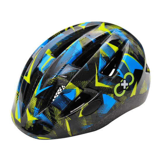 Goldcross Kids Mayhem Bike Helmet, Black, rebel_hi-res