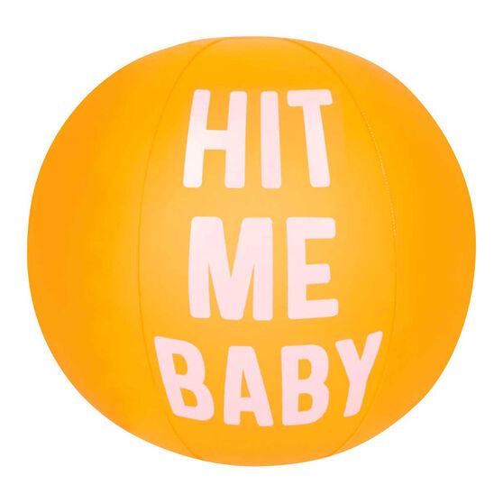 Sunnylife Inflatable Hit Me Baby Beach Ball, , rebel_hi-res