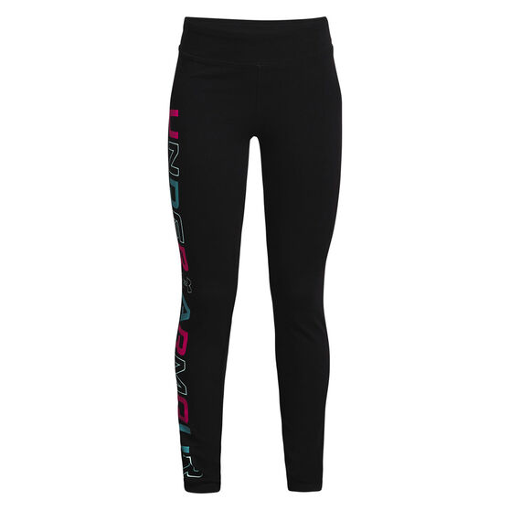 Under Armour Favourite Leggings, Black, rebel_hi-res