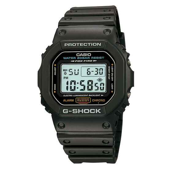 Casio G Shock DW56001 Digital Watch, , rebel_hi-res