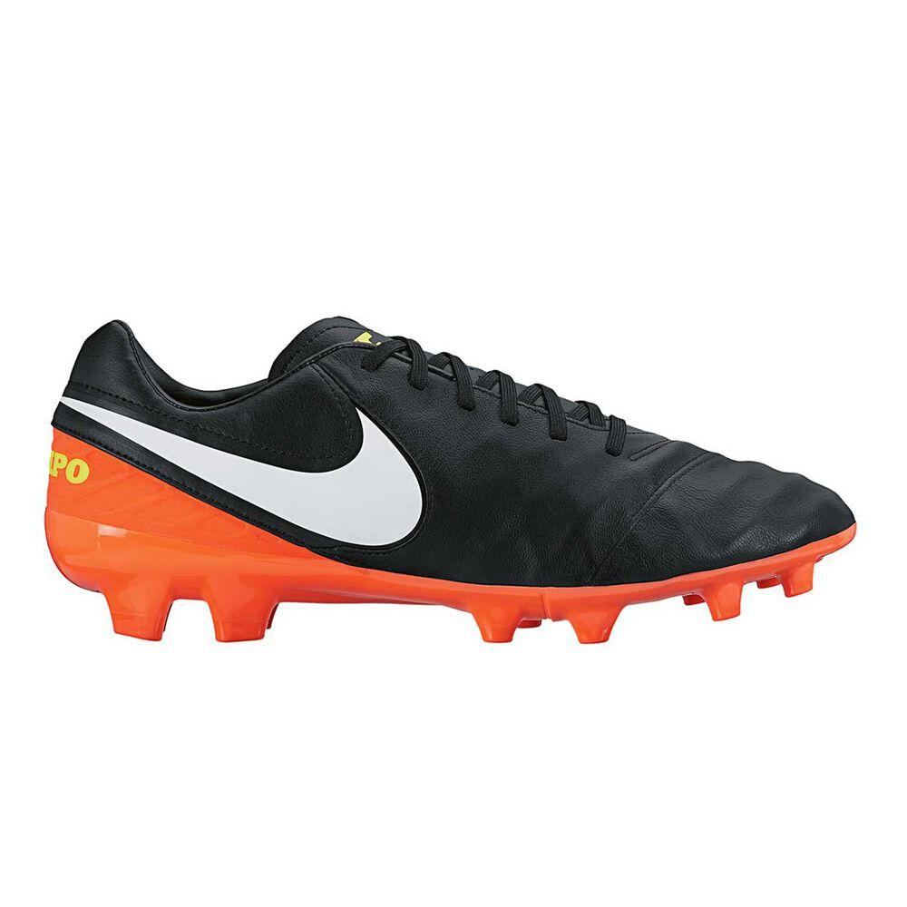 b9eed8215 Nike Tiempo Mystic V Mens Football Boots Black / White US 10.5 Adult, Black  /