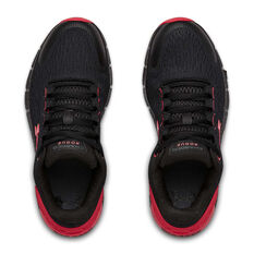 Under Armour Charged Rogue 2 Kids Running Shoes, Black/Red, rebel_hi-res