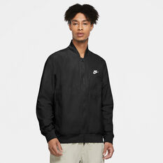 Nike Mens Sportswear Woven Jacket, Black, rebel_hi-res
