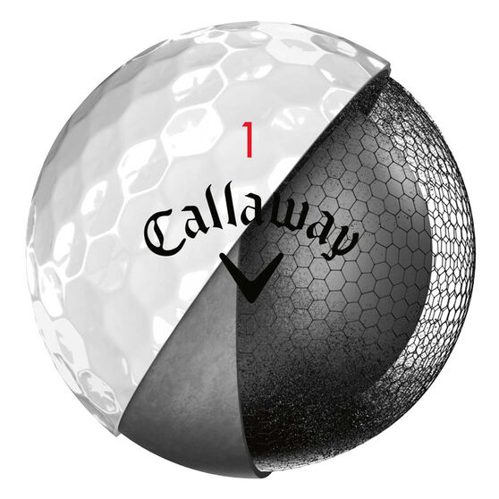 Callaway Chrome Soft X 12 Pack Golf Balls, , rebel_hi-res