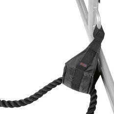 SPRI Cross Train Rope Anchor Black, , rebel_hi-res