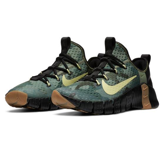Nike Free Metcon 3 Mens Training Shoes, Black/Gum, rebel_hi-res