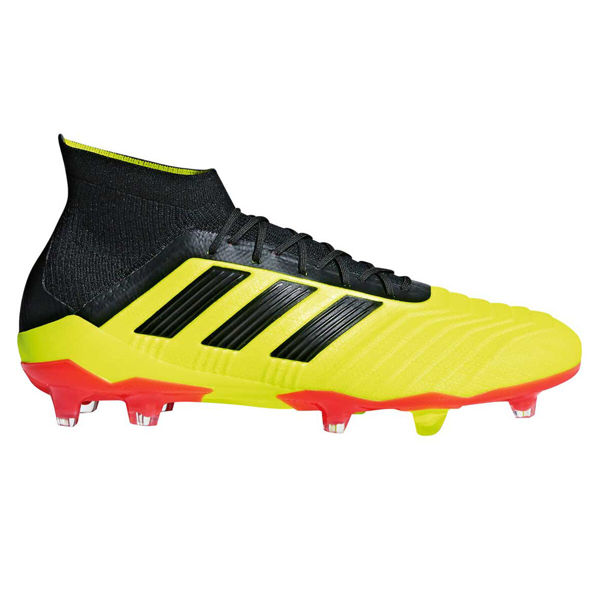 9b86824a8070 ... czech adidas predator 18.1 mens football boots lime black us 7 lime  black eb582 48675