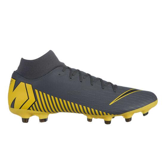 Nike Mercurial Superfly 6 Academy Mens Football Boots, Grey / Black, rebel_hi-res