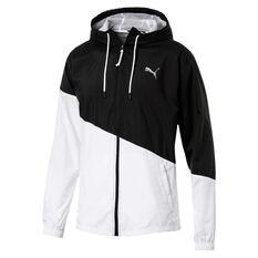 Puma Mens ACE Jacket Black S, Black, rebel_hi-res