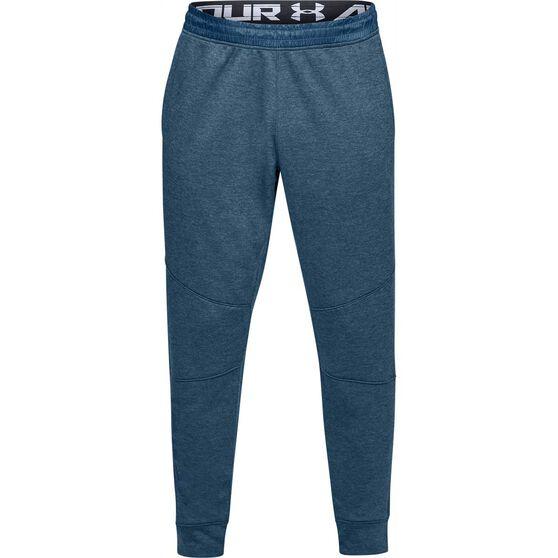 Under Armour Mens MK 1 Terry Jogger Pants, Blue, rebel_hi-res