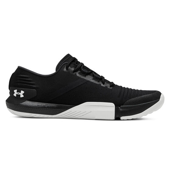 Under Armour Tribase Reign Womens Training Shoes Black / White US 9, Black / White, rebel_hi-res