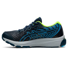 Asics GEL Cumulus 22 Kids Running Shoes Navy/Blue US 1, Navy/Blue, rebel_hi-res
