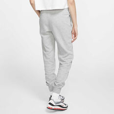 Nike Womens Sportswear Essentials Fleece Track Pants, Grey, rebel_hi-res