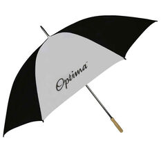 Optima Golf Umbrella Black / White 60in, , rebel_hi-res
