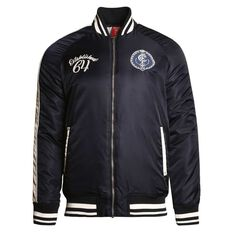 Carlton Blues Mens Vintage Bomber Jacket, , rebel_hi-res