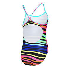 Speedo Girls Sierra One Piece Swimsuit Multi 8, Multi, rebel_hi-res
