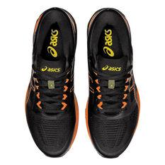 Asics GEL Superion 4 Mens Running Shoes, Black/Orange, rebel_hi-res