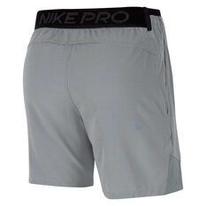 Nike Pro Mens Rep Shorts Grey S, Grey, rebel_hi-res