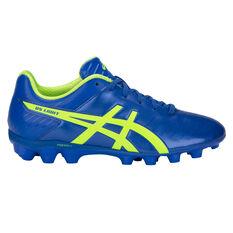 Asics DS Light 3 Kids Football Boots Blue / Green US 1, Blue / Green, rebel_hi-res