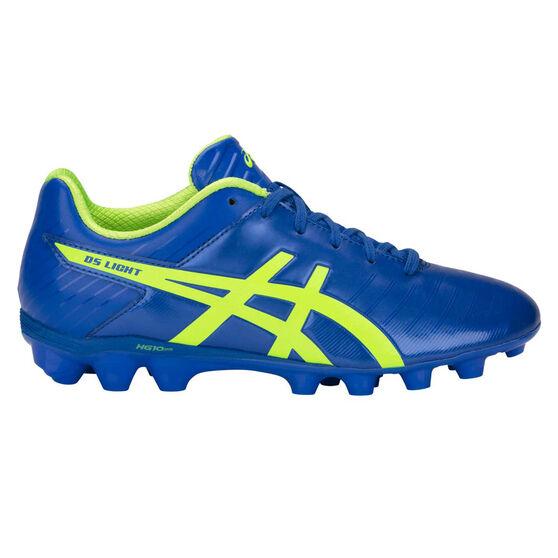 Asics DS Light 3 Kids Football Boots, Blue / Green, rebel_hi-res