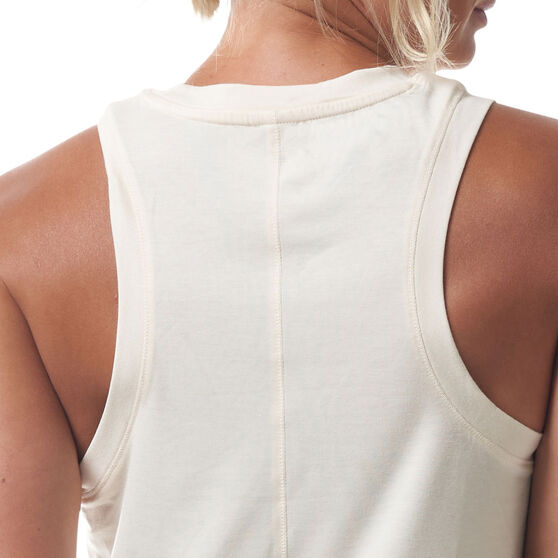 Ell & Voo Womens Callie Tank, White, rebel_hi-res