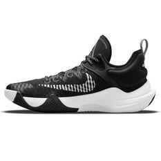 Nike Giannis Immortality Basketball Shoes Black US 7, Black, rebel_hi-res