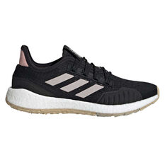 adidas Pulseboost HD S.RDY Womens Running Shoes Black/Pink US 6, Black/Pink, rebel_hi-res