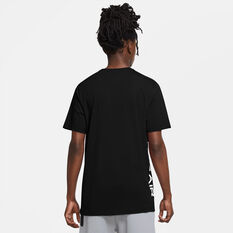 Nike Mens Air HBR Tee Black XS, Black, rebel_hi-res