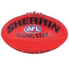 Sherrin Rising Star AFL Ball Red 2, Red, rebel_hi-res
