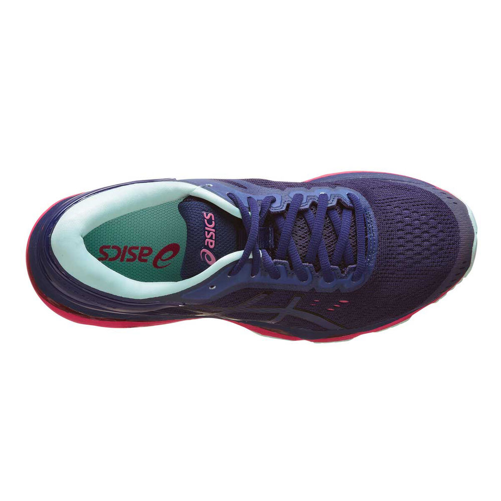 0e95c44da572d Asics Gel Kayano 24 Lite Show Womens Running Shoes Navy   Teal US 6 ...