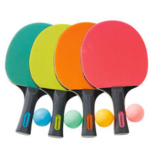 Dragonfly Table Tennis Bat and Ball Set, , rebel_hi-res