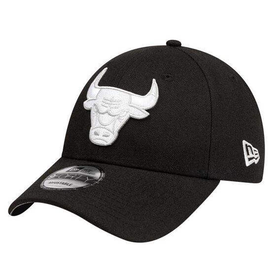 Chicago Bulls New Era 9FORTY Black Cloud Cap, , rebel_hi-res