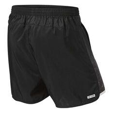 Port Power 2019 Mens Training Shorts Black S, Black, rebel_hi-res