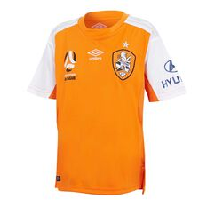 Brisbane Roar 2018 Kids Home Jersey, , rebel_hi-res