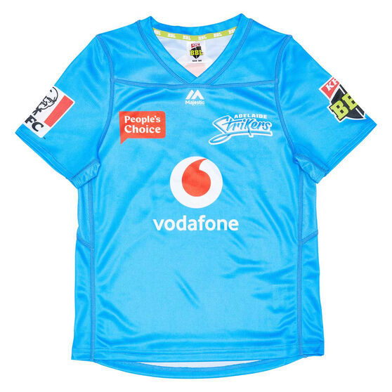Adelaide Strikers 2020/21 Kids BBL Jersey Blue 8, Blue, rebel_hi-res