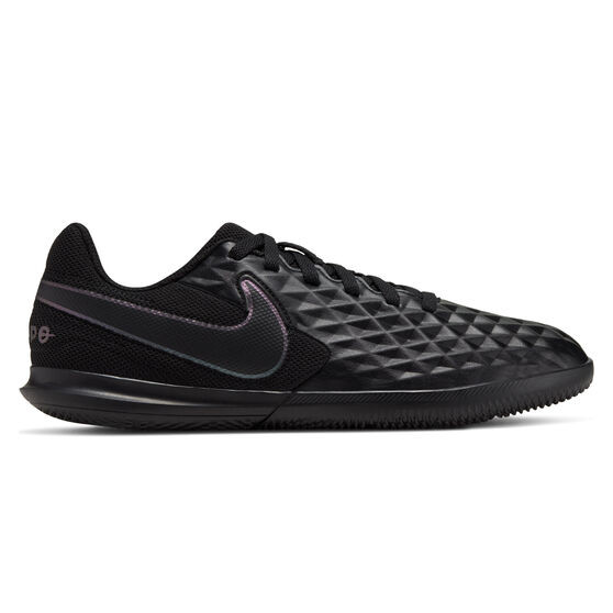 Nike Tiempo Legend VIII Club Kids Indoor Soccer Shoes, Black, rebel_hi-res