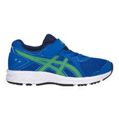 Asics Jolt Kids Training Shoes Blue US 1, Blue, rebel_hi-res