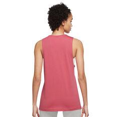 Nike Womens Sportswear Muscle Tank Pink XS, Pink, rebel_hi-res