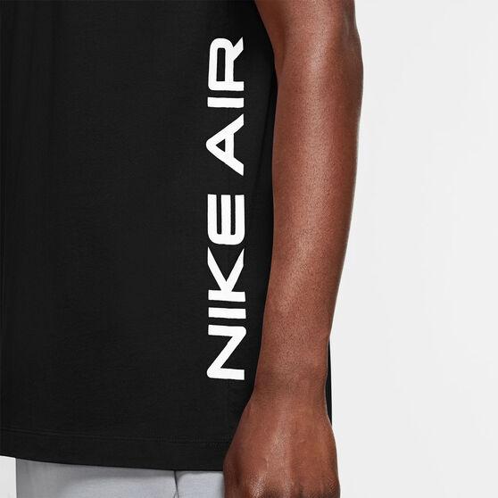 Nike Mens Air HBR Tee, Black, rebel_hi-res