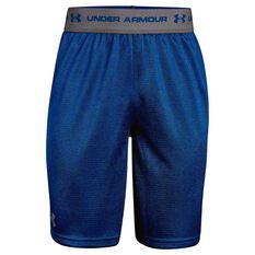 Under Armour Boys Tech Prototype 2 Shorts Royal / Grey XL, Royal / Grey, rebel_hi-res