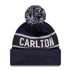 Carlton Blues New Era Supporter Beanie, , rebel_hi-res
