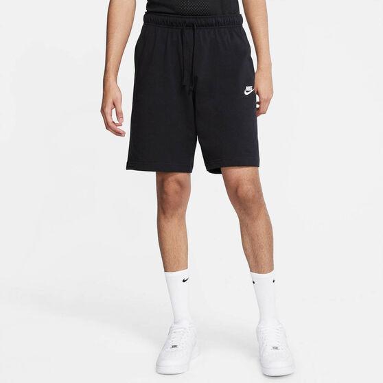 Nike Mens Sportswear Club Jersey Shorts, Black, rebel_hi-res