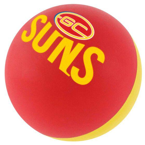 Gold Coast Suns High Bounce Ball, , rebel_hi-res