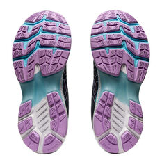 Asics GEL Kayano 27 Kids Running Shoes, Grey, rebel_hi-res