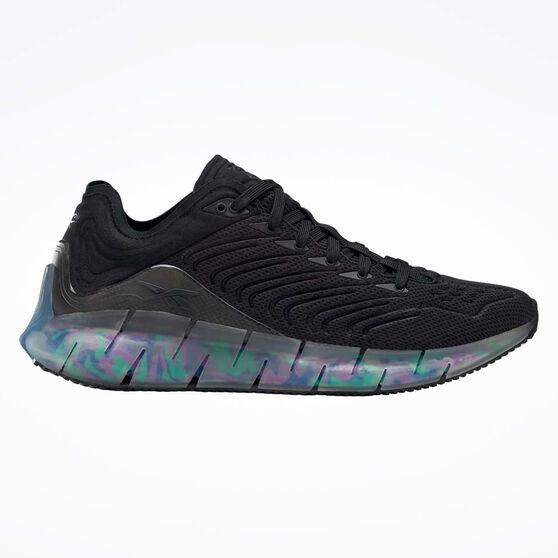 Reebok Zig Kinetica Running Shoes, Black/Blue, rebel_hi-res