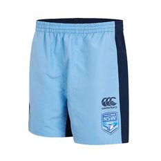 NSW Blues 2019 Mens Panel Tactic Shorts Blue S, Blue, rebel_hi-res