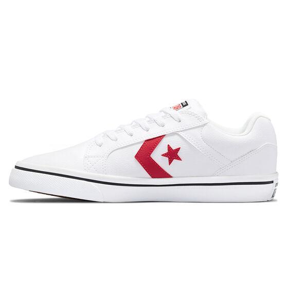 Converse El Distrito 2.0 Mens Casual Shoes, White/Red, rebel_hi-res