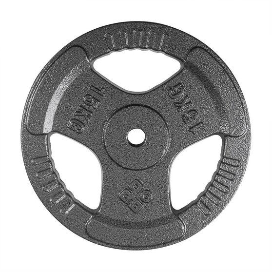 Celsius 15kg Tri Grip Weight Plate, , rebel_hi-res